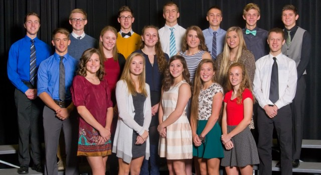 Fall All Conference Athletes