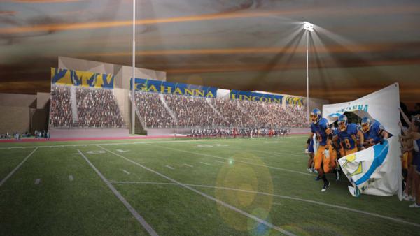 Stadium Bleacher Rendering