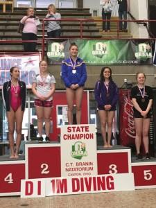 Maycey Vieta State Champion