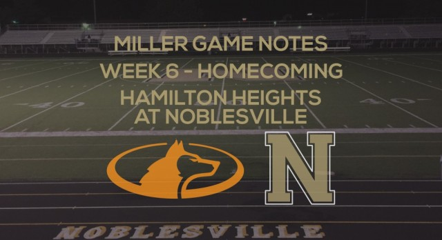 Miller Game Notes vs Hamilton Heights
