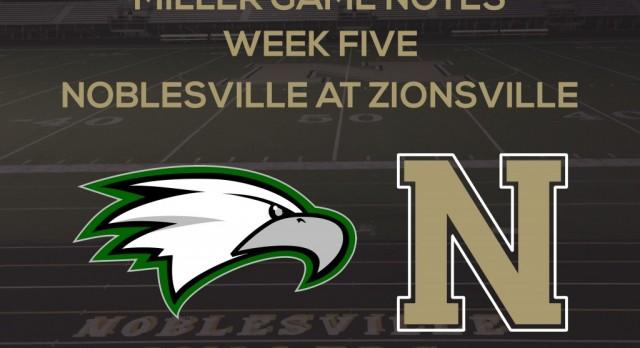Miller Game Notes vs. Zionsville
