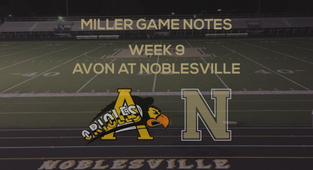 Miller Game Notes vs Avon Orioles