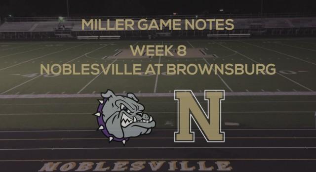 Miller Game Notes at Brownsburg Bulldogs