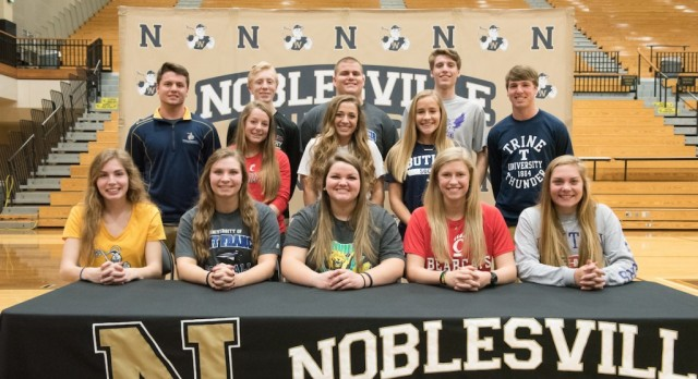 Noblesville Athletics Celebrates Signing Day