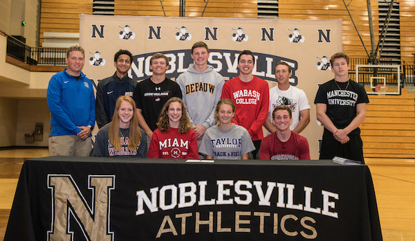 Noblesville Athletics Spring Signing Day