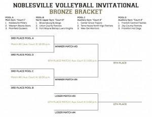 NHS VB Invitational Brackets - Bronze