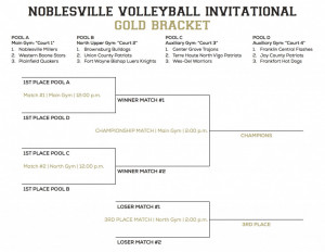 NHS VB Invitational Brackets - Gold