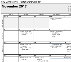 Microsoft Office Outlook - Monthly Style
