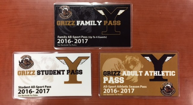 Ypsilanti Athletic Passes available!