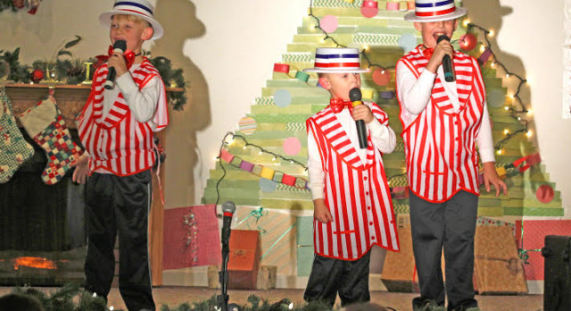 Barbershop Trio to Perform at Halftime of Lapel Game