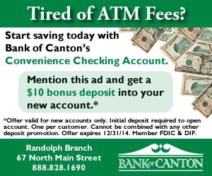 2014-01 Online Ad - Randolph Schools - Conv Cking with Bonus