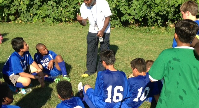 Boys Middle School soccer team fall in season opener