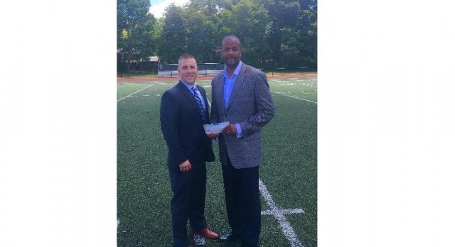 Athletic Department Receives Funds from Harbor One Bank