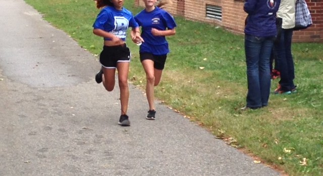 Blue Devils Middle School X-Country Open the season