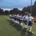 Varsity Girl's Soccer Senior Night 2016
