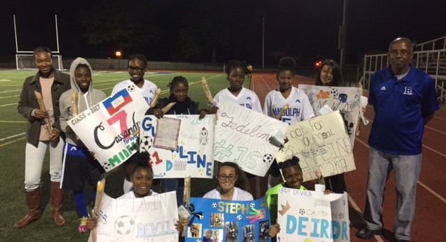Congratulations to our Girl's Varsity Soccer Seniors