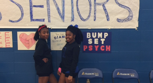 Congratulations to our Girls Volleyball Seniors!!