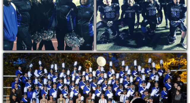 Congratulations to our Band, Cheerleading and Football seniors!