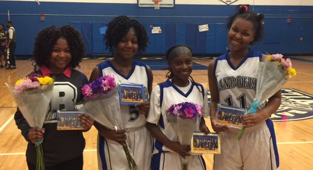 Congratulations to our Girls Varsity Basketball seniors for a great senior day win!