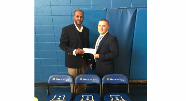 Harbor One Bank Donates $2K in Support of RPS Athletic Department