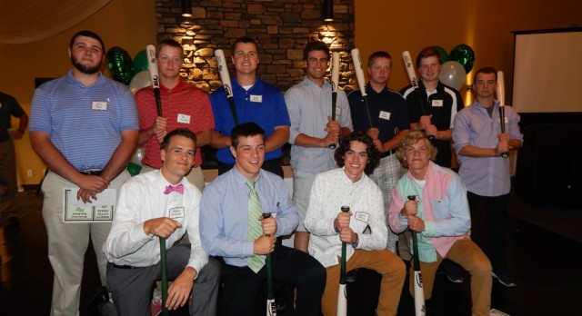 Baseball Seniors Honored At Banquet