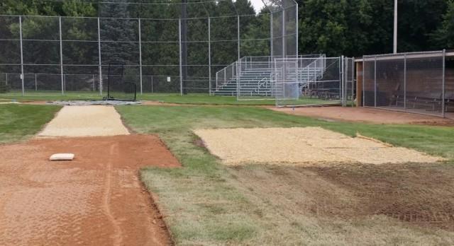 MV Baseball Field Fall Maintenance