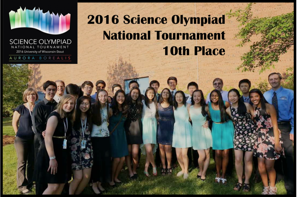 Mounds View Science Olympiad places 10th at Nationals