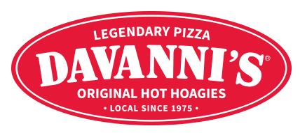 Davanni's Fundraiser 9/26  4-8pm