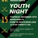 Youth Night (Thurs, Dec. 15)