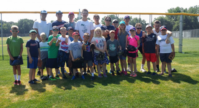 Baseball Summer Fun Program Wraps Up