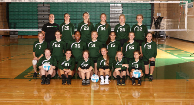 2017 Freshman Volleyball Team