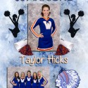 2013 Cheerleader Senior Banners
