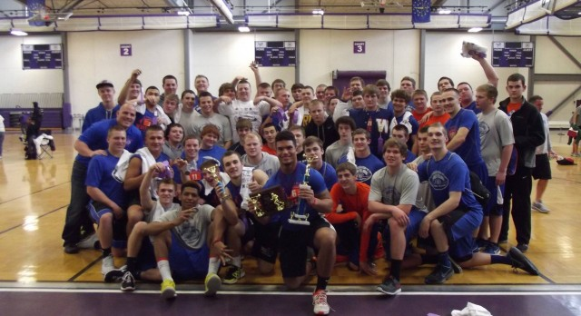 Football Team Finishes 2nd at Ben Davis Lift Contest