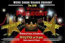 Cheer Team to Host Mr. Whiteland Pageant