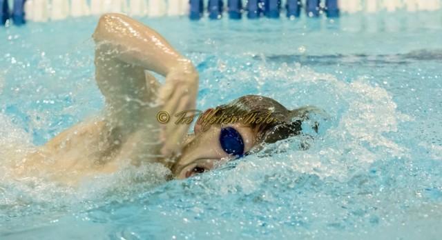 Swim Teams Sink the Hawks