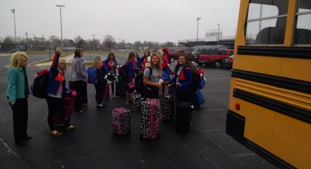 Cheer Squad Heading to the Nationals