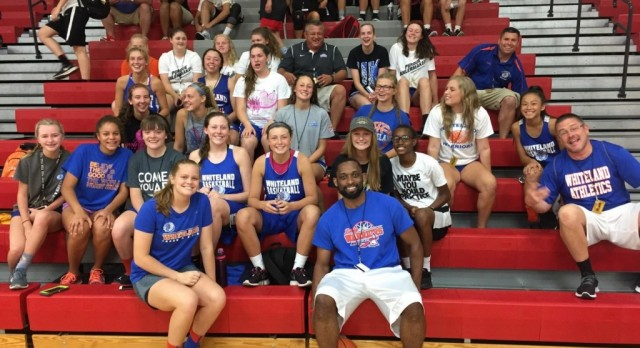 Lady Warriors Have Great Team Camp
