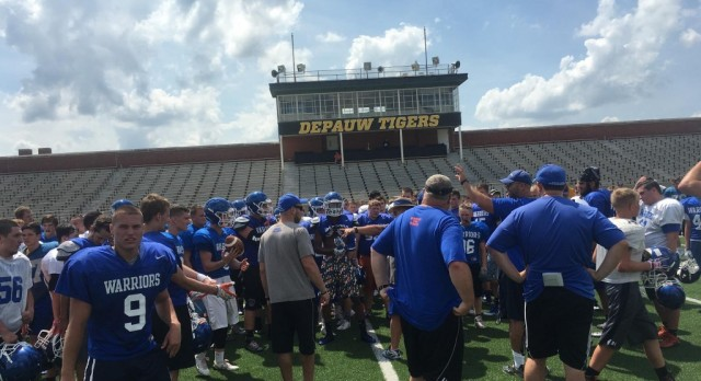 Football Warriors at Team Camp