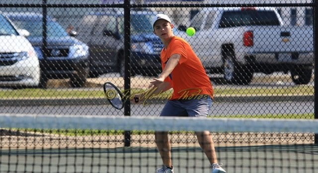 Tennis Sectional Draw Announced