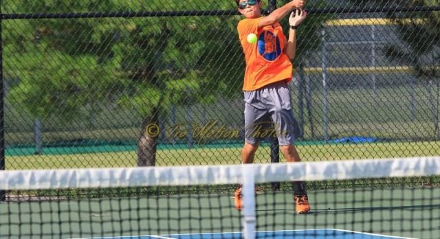 Tennis Team Drops Match