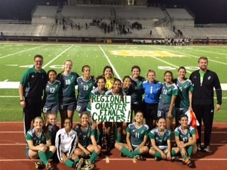 Varsity Soccer Girls Beat Kingsville 3-2