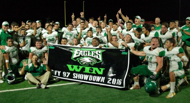 Eagles WIN HWY 97 Showdown 2016