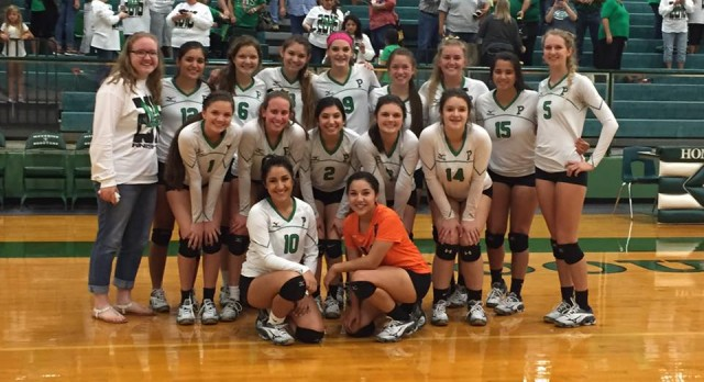 Lady Eagles Bi-District Champs!!!