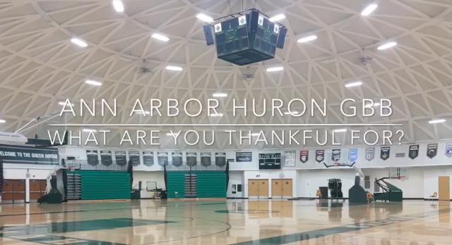 Video: WBB Thankful 2016