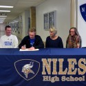 Dylan Fillwock signing with Ancilla College