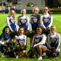JV Cheer & Flag Girls 9-29-17