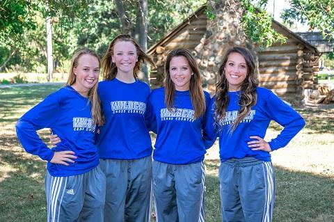 2015 Girls Cross Country Team