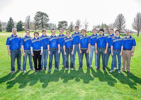 2015-2016 Boys Golf Team