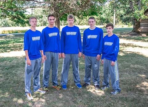 2015 Boys Cross Country Team