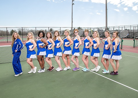 2015-16 Girls Tennis Team